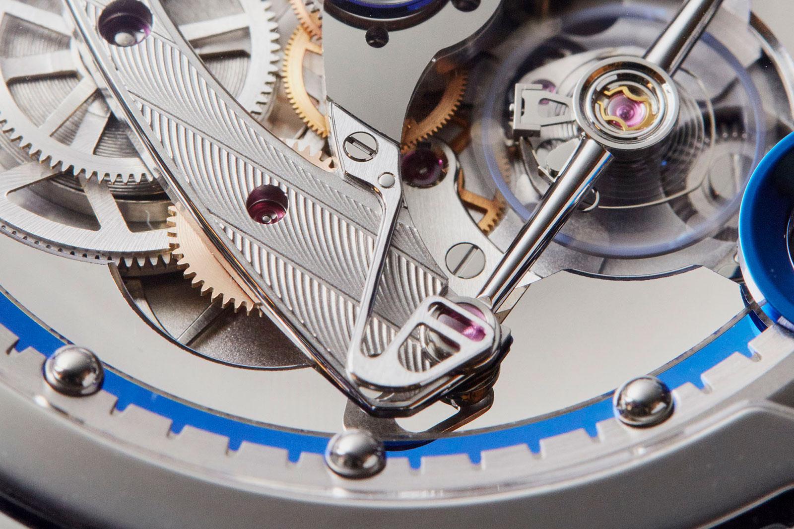 De Bethune DB28 steel wheels watch 6