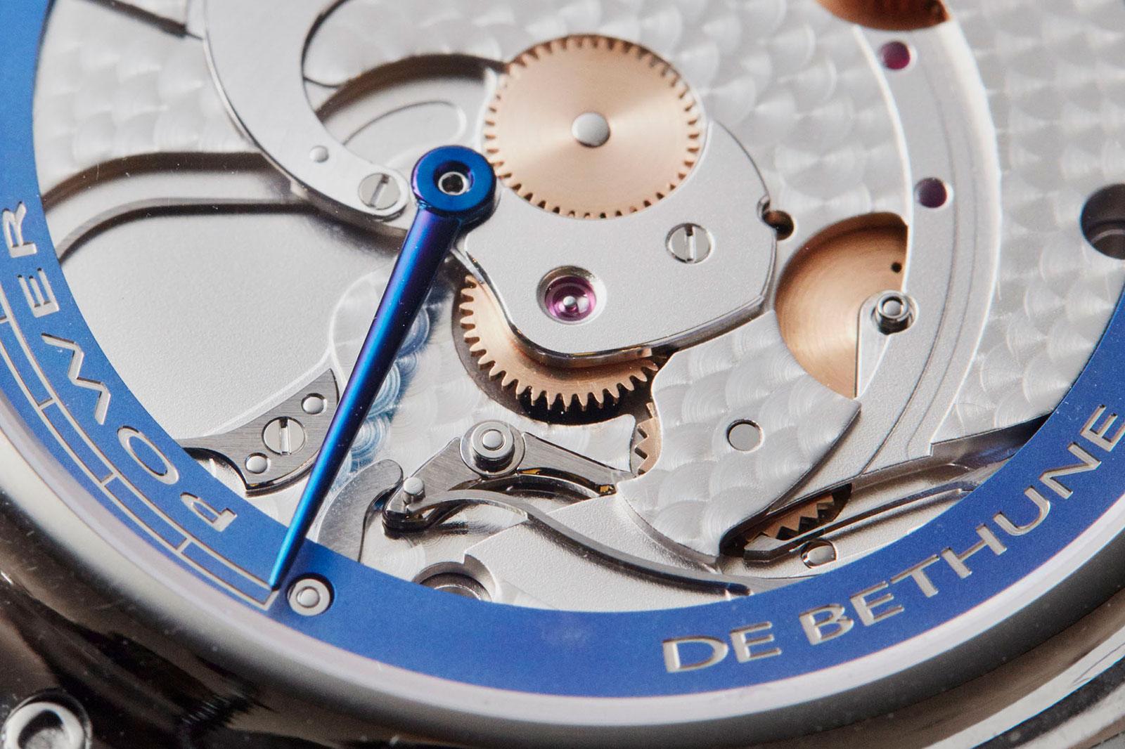 De Bethune DB28 steel wheels watch 7