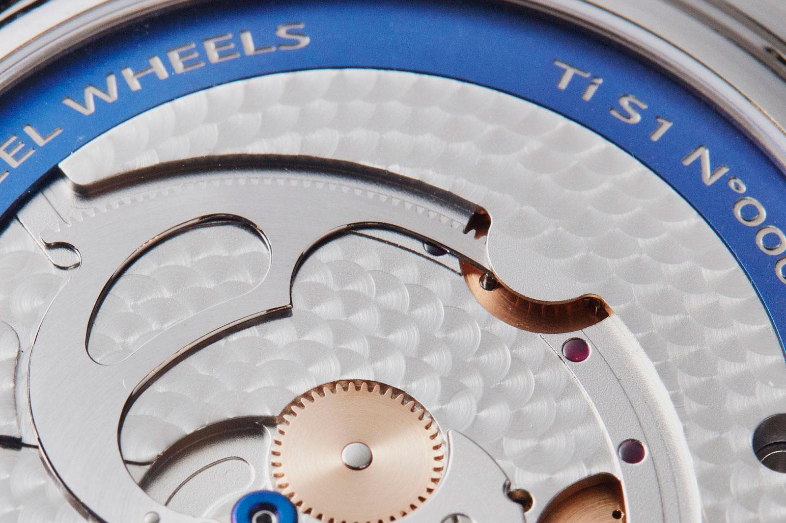 De Bethune DB28 steel wheels watch 8