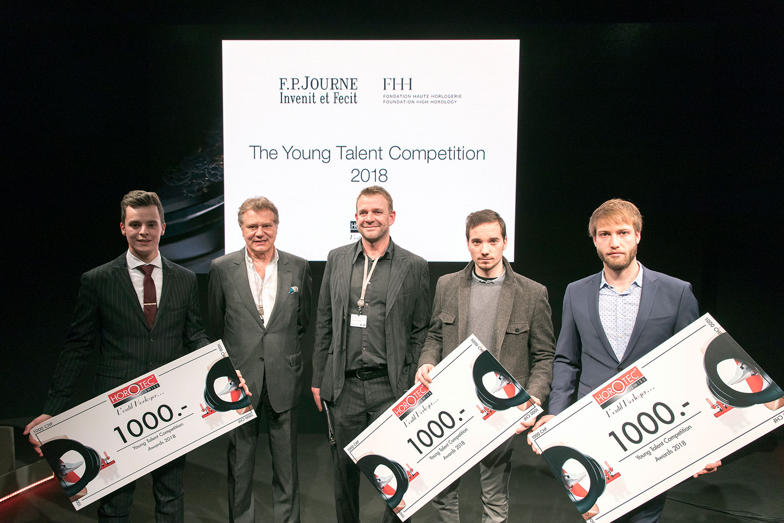 FP Journe Young Talent Competition Awards 2018