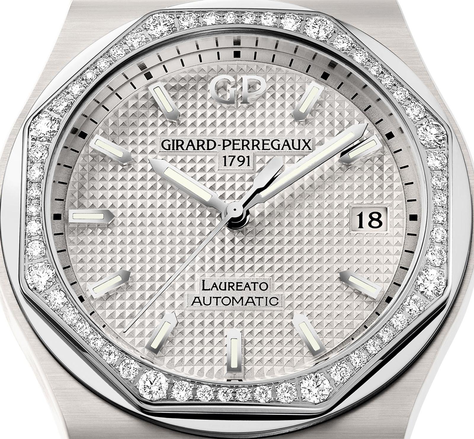 Girard-Perregaux 38mm White Ceramic Laureato
