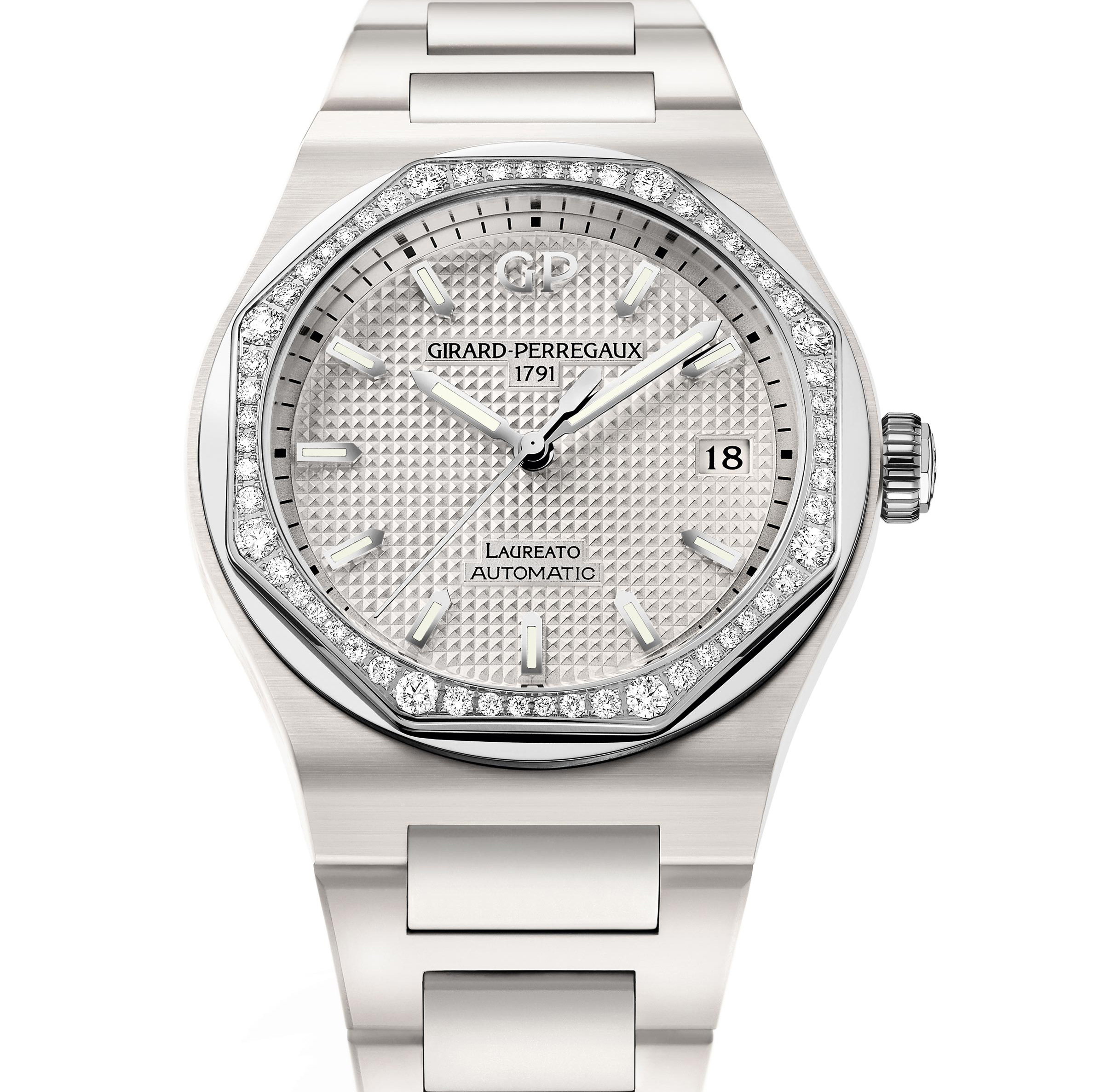 Girard-Perregaux Laureato 38mm Ceramic White 2