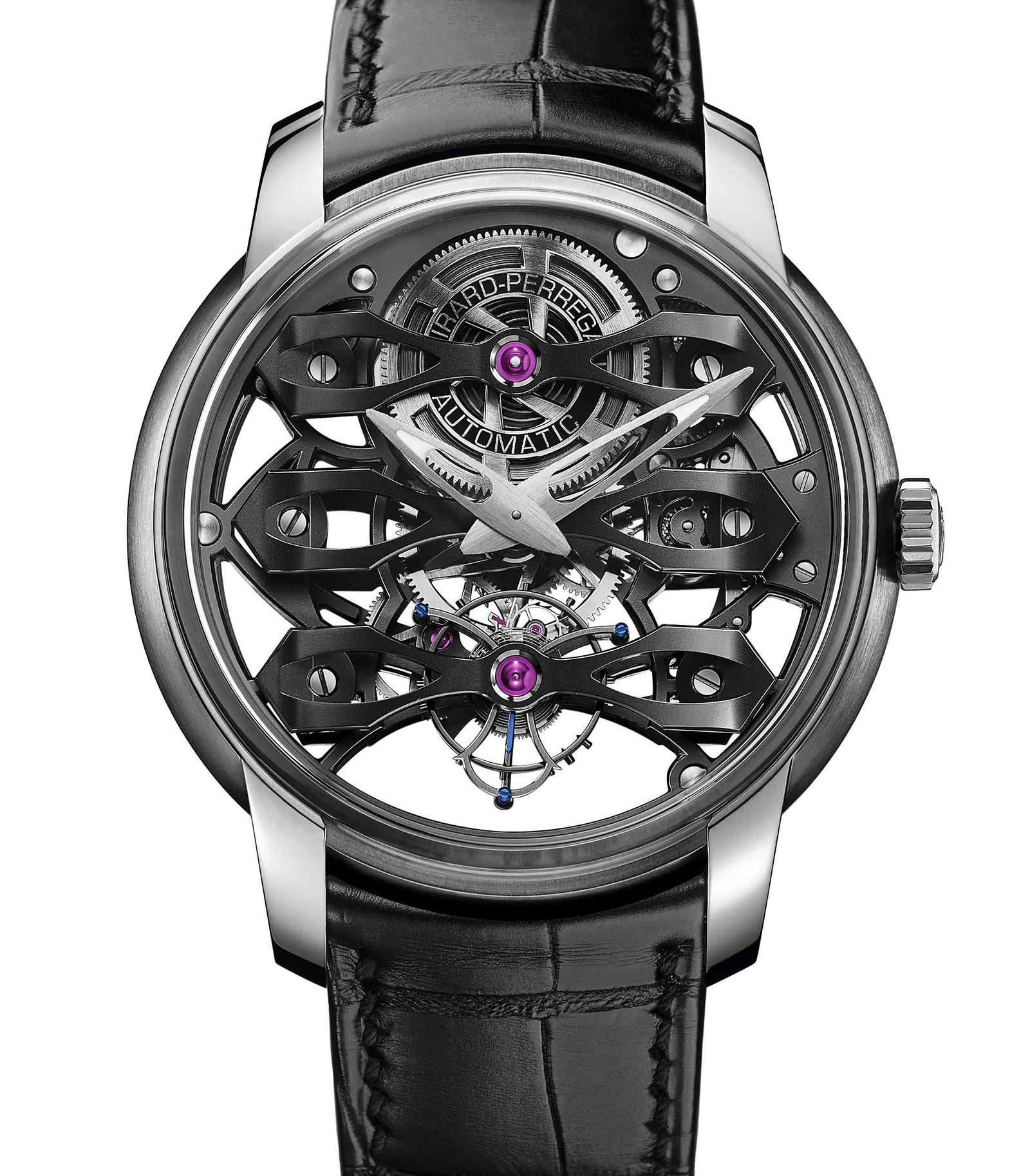 Girard-Perregaux Neo Tourbillon With Three Bridges Skeleton 2