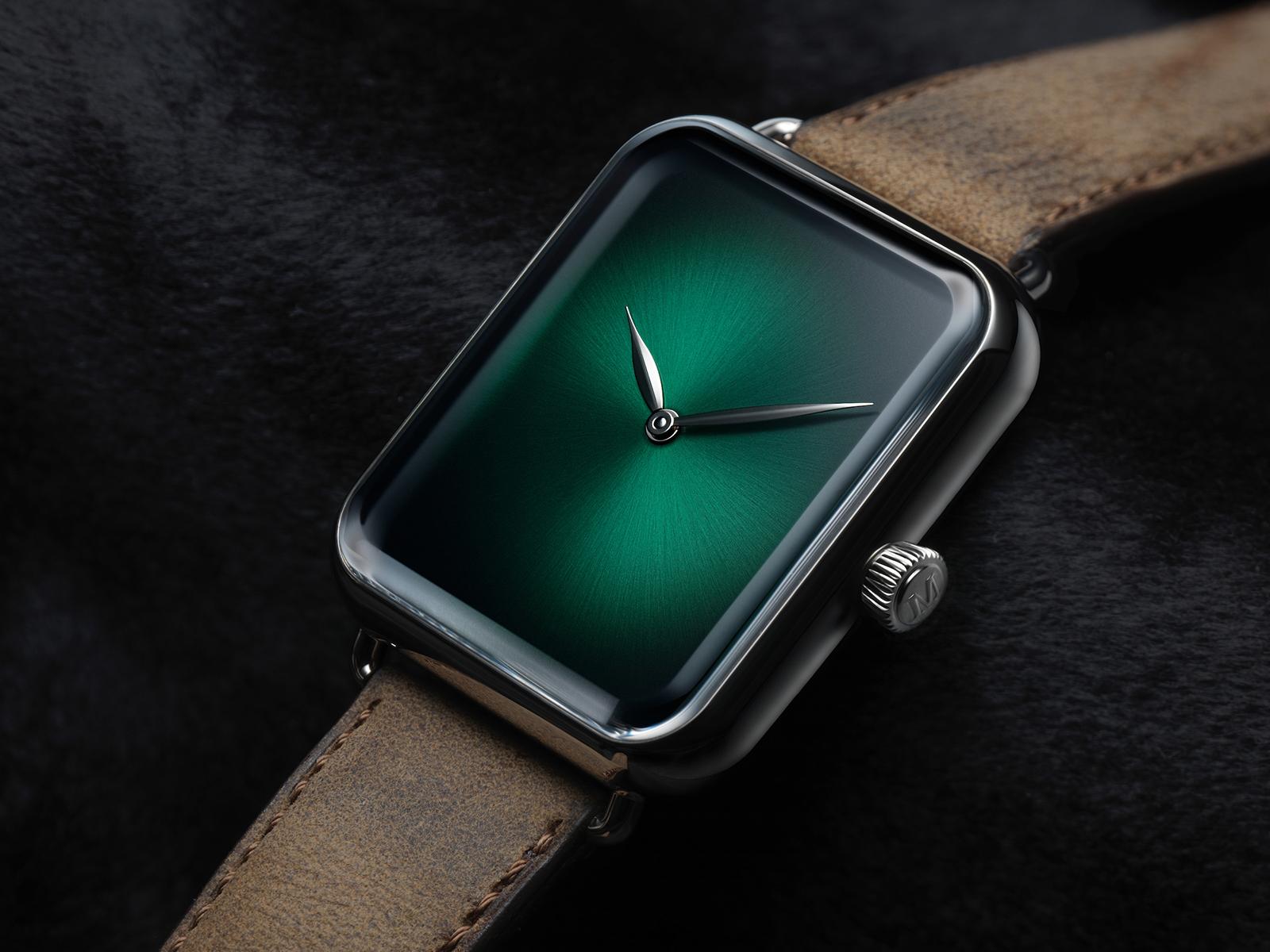 H. Moser & Cie. Swiss Alp Concept Watch Cosmic Green