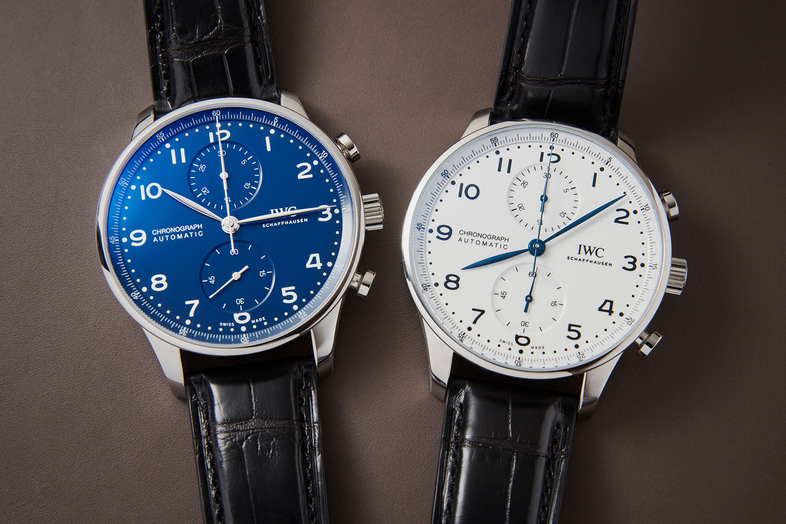 """Quick Look: IWC Portugieser Chronograph Edition """"150 Years ..."""