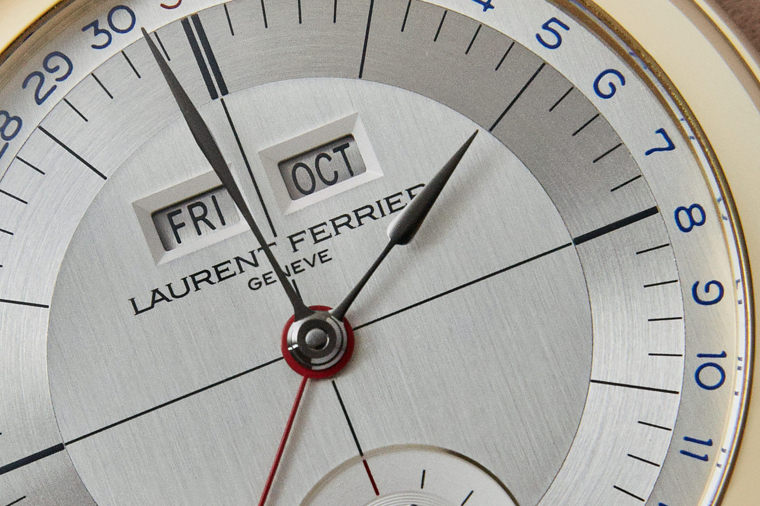 Laurent Ferrier Annual Calendar Montre Ecole 4