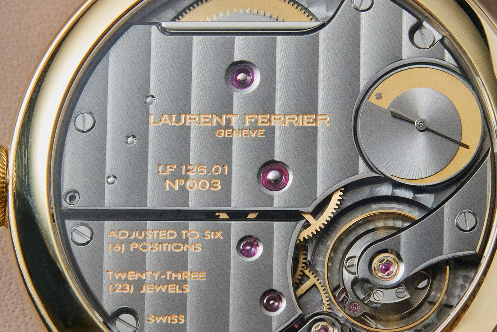 Laurent Ferrier Annual Calendar Montre Ecole 5