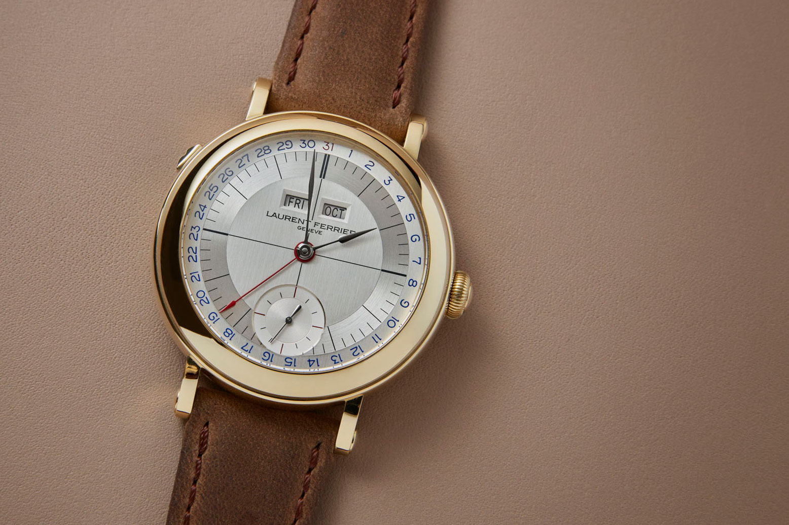 Laurent Ferrier Annual Calendar Montre Ecole 6