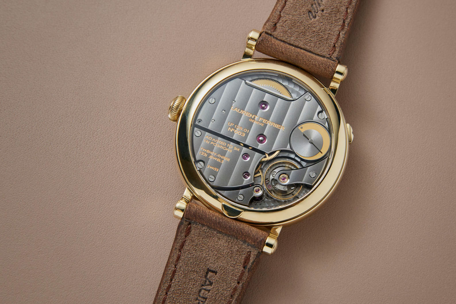 Laurent Ferrier Annual Calendar Montre Ecole 7
