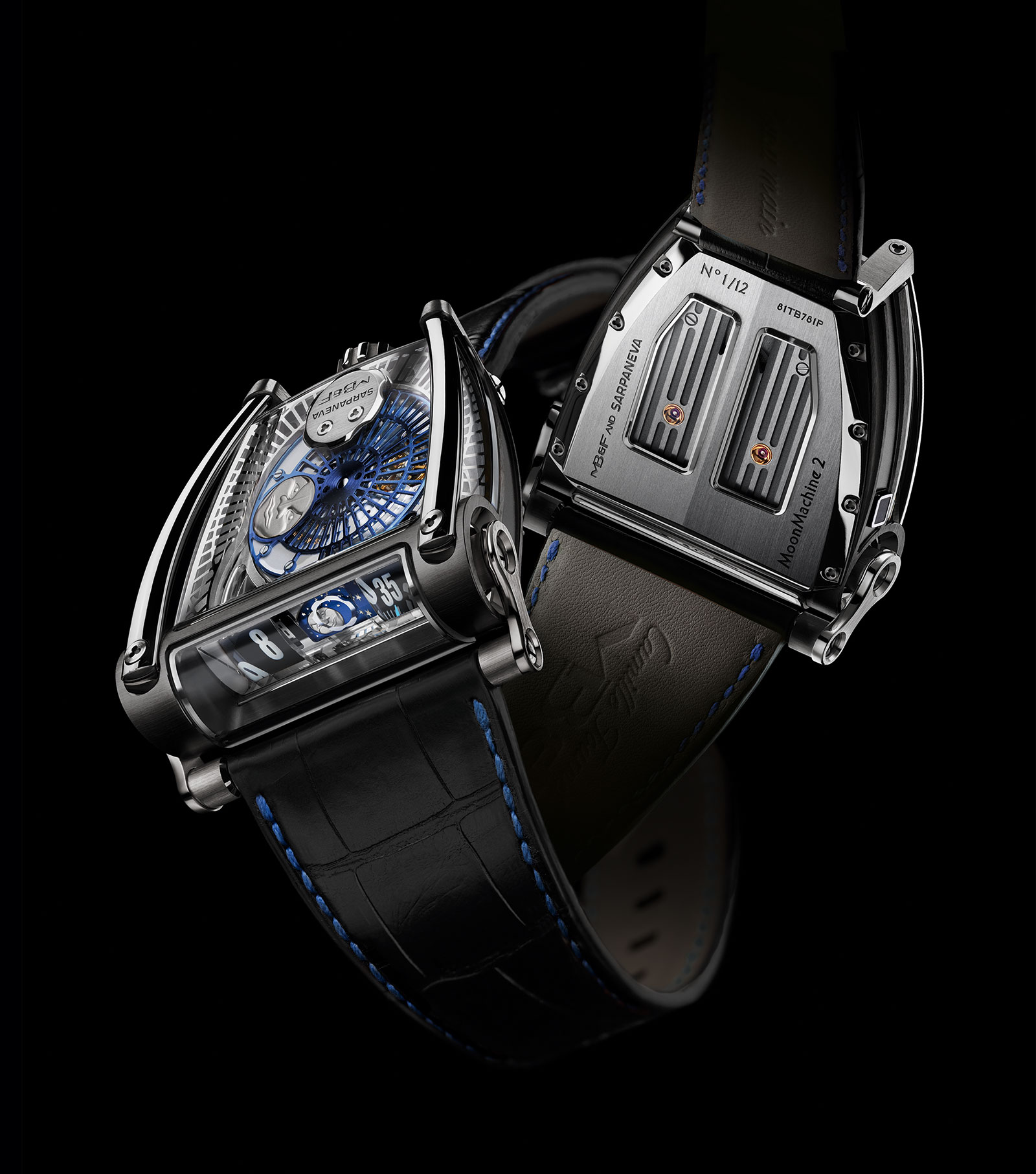 MB&F MoonMachine 2 black titanium