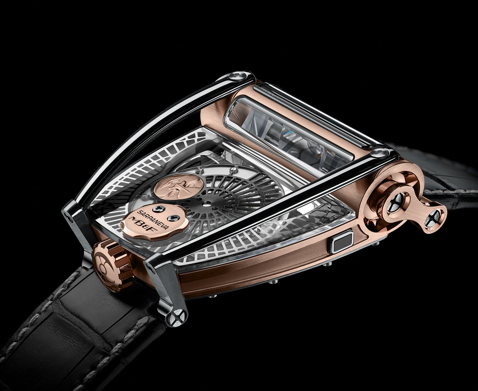 MB&F MoonMachine 2 red gold