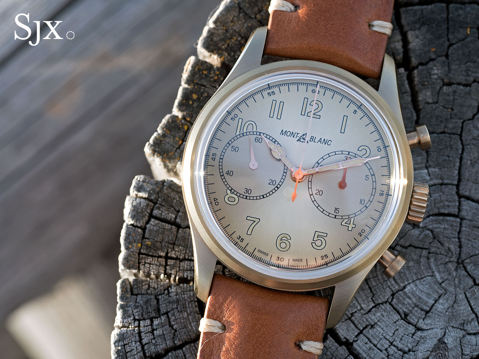 Montblanc 1858 Automatic Chronograph 7