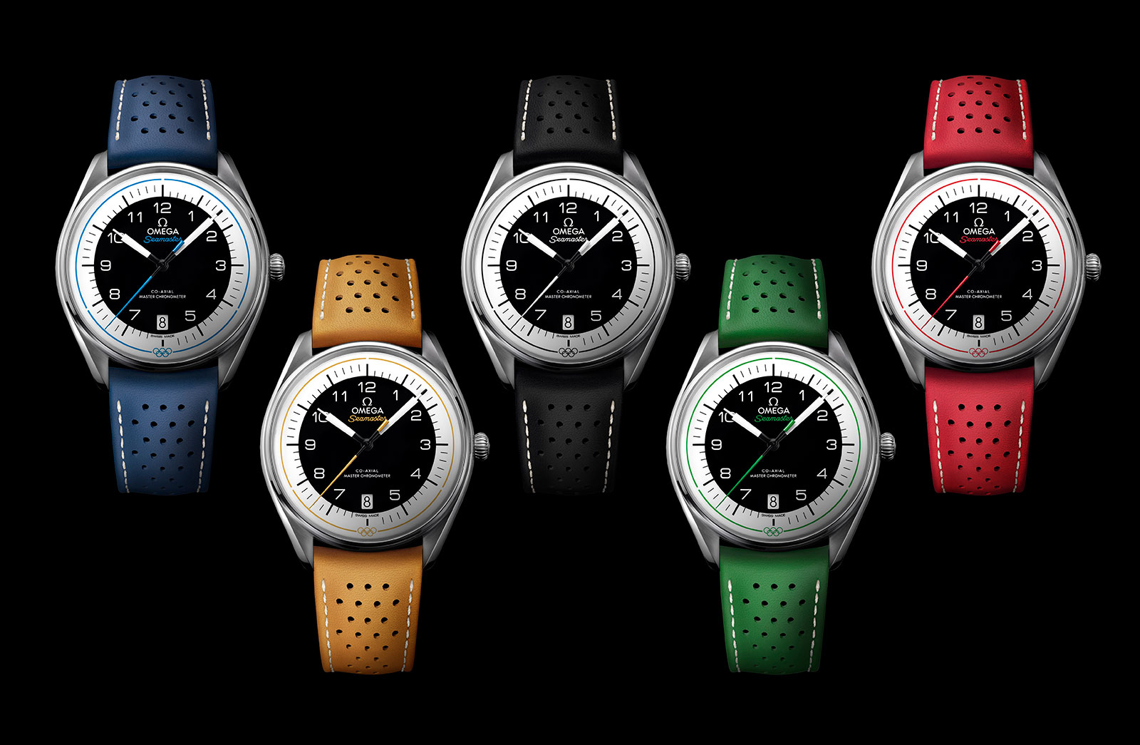 54828cbd03e Omega Introduces the Entry-Level Seamaster Olympic Games Collection ...