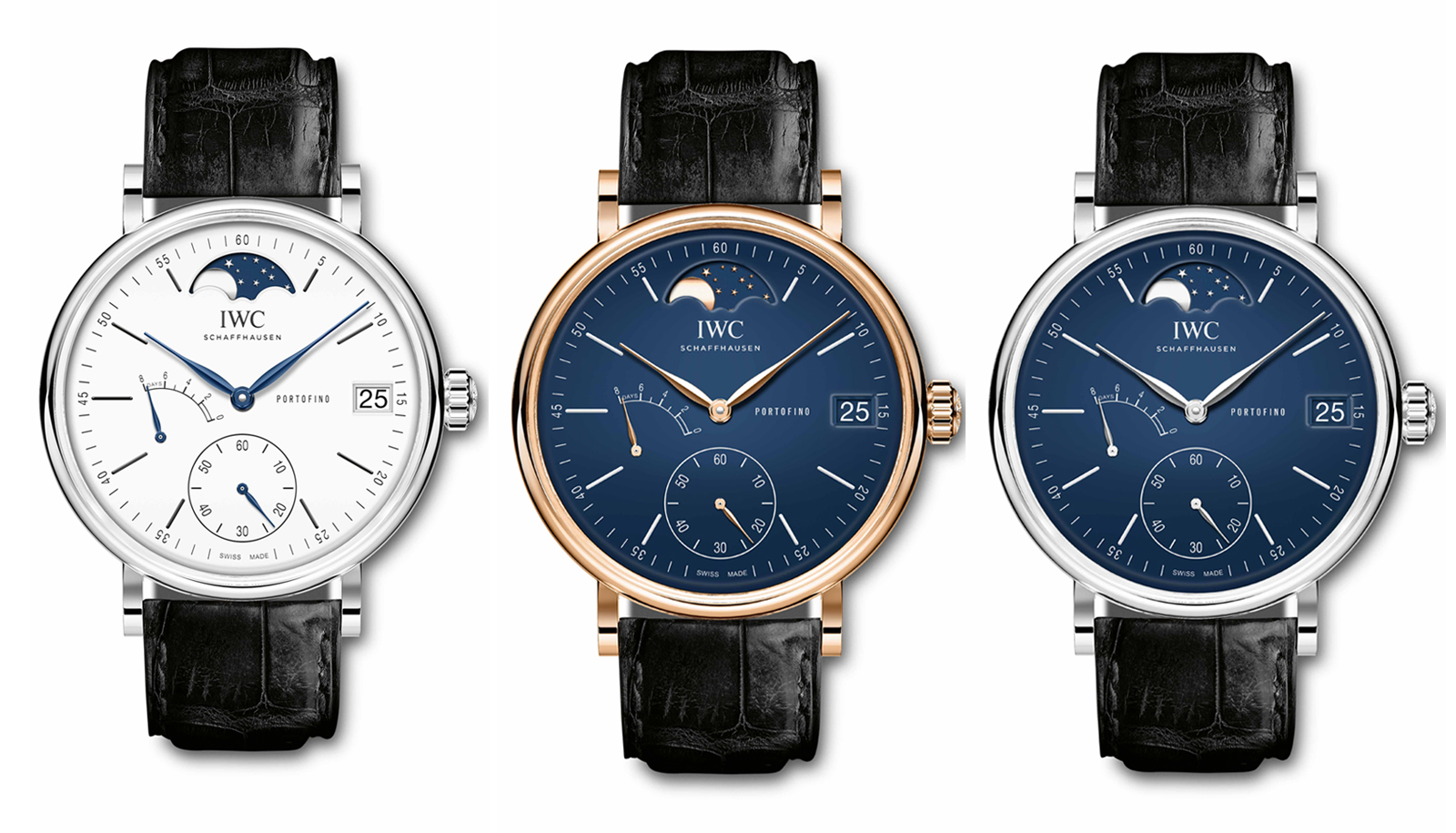 "Portofino Hand-Wound Moon Phase Edition ""150 Years"""