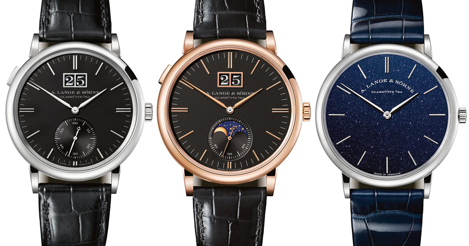 Sihh 2018 A Lange Sohne Unveils Saxonia Watches With Entry