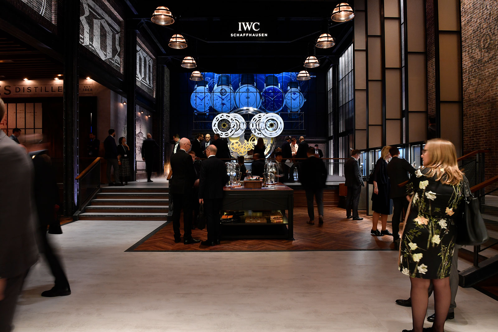 SIHH 2018 IWC booth