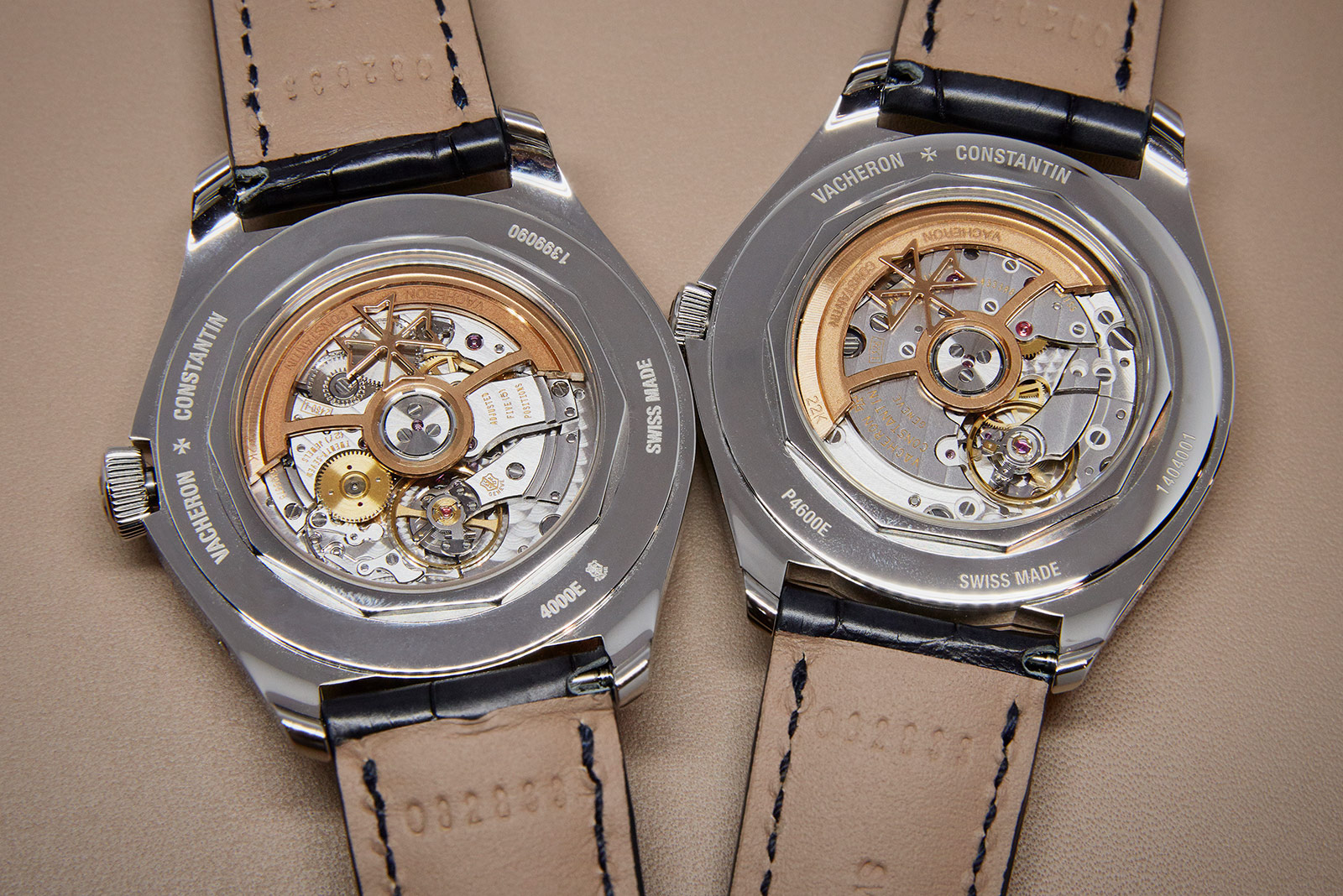 Vacheron Constantin Fiftysix movement comparison