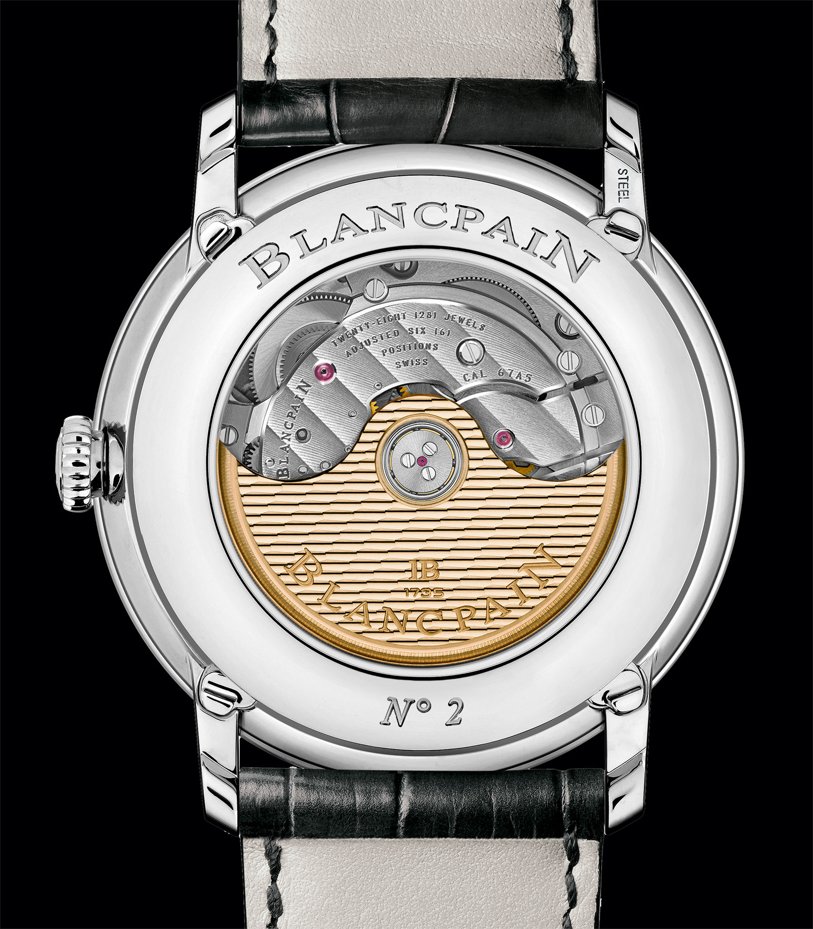 Blancpain Villeret Complete Calendar GMT 1