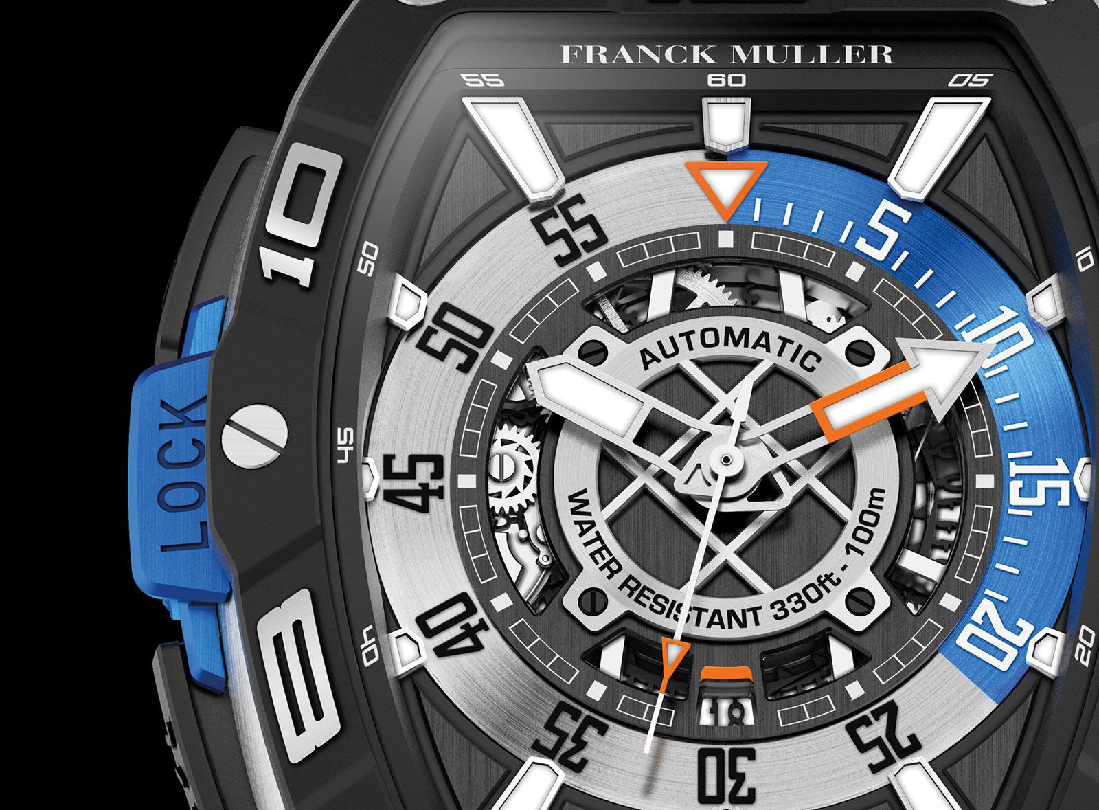 Franck Muller Skafander diver 2