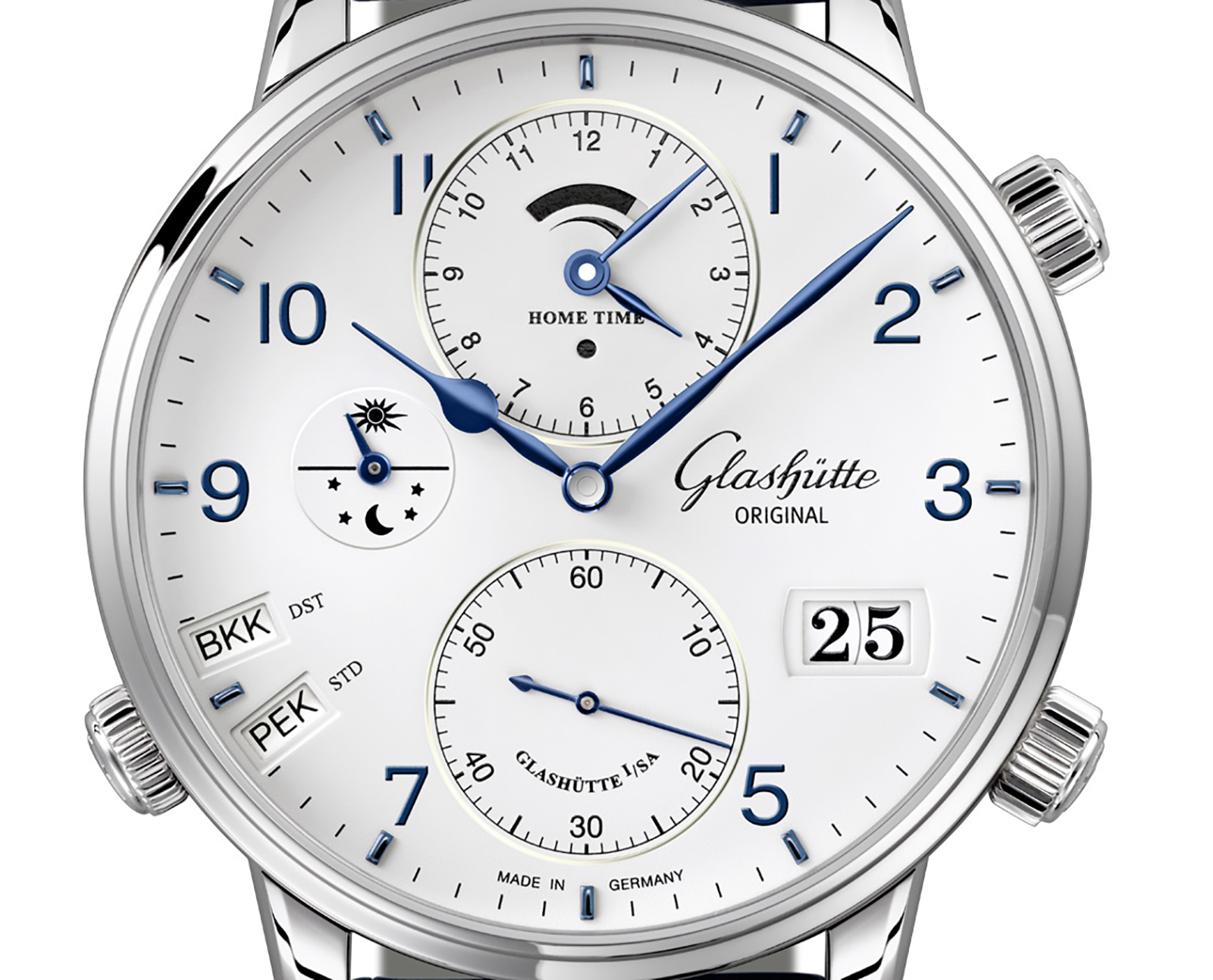Glashütte Original Senator Cosmopolite in Steel 4