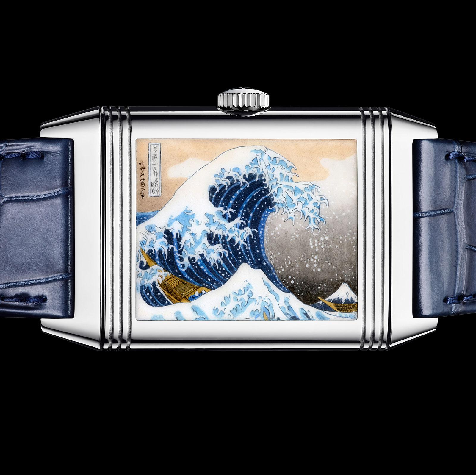 Jaeger-LeCoultre Reverso enamel Hokusai