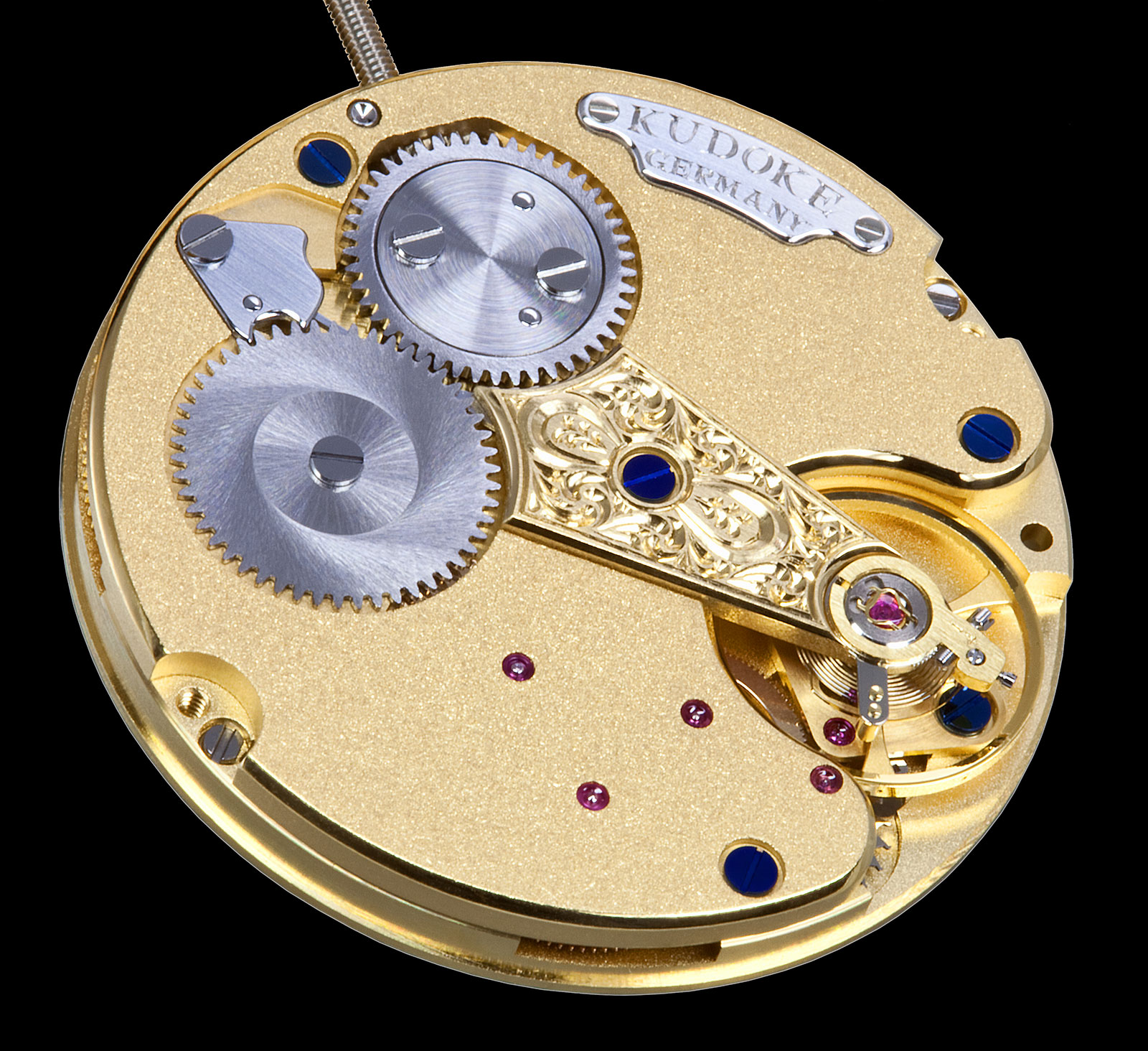 KUDOKE Kaliber 1 watch movement 3