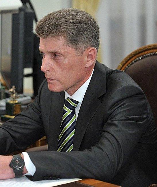 Oleg Kozhemyako Sakhalin Oblast