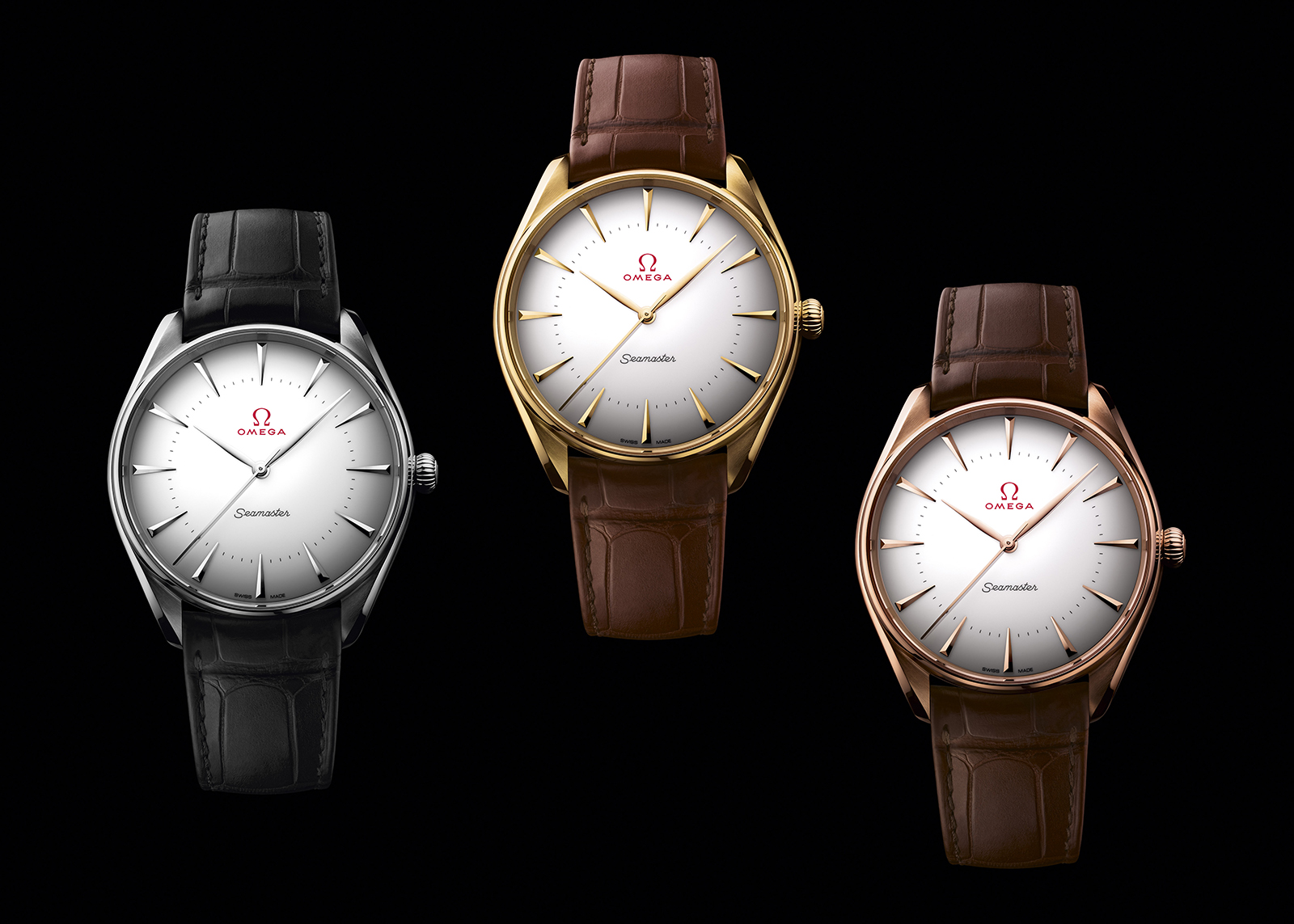 Omega Seamaster Olympic Games Collection in gold
