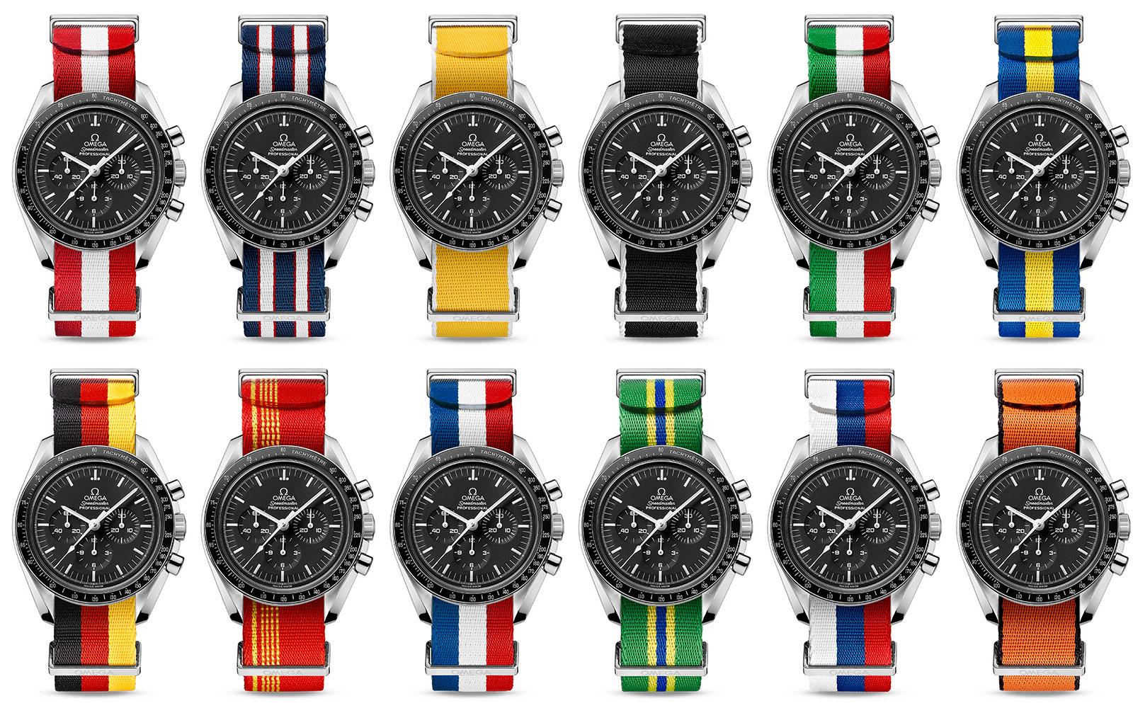 Omega flag NATO straps