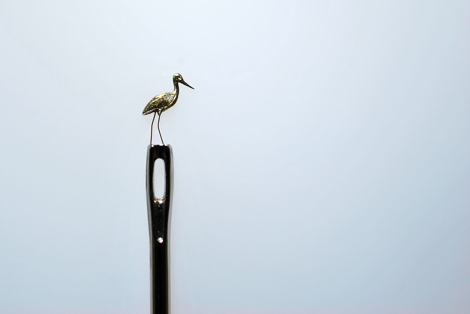 Sergey Teterin Micro miniature sculpture 1