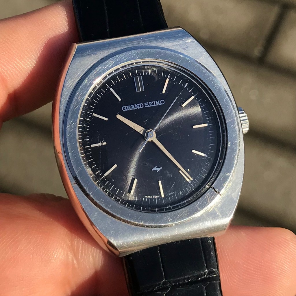 Grand Seiko 4580 014 VFA from the collection of Erik Strickland