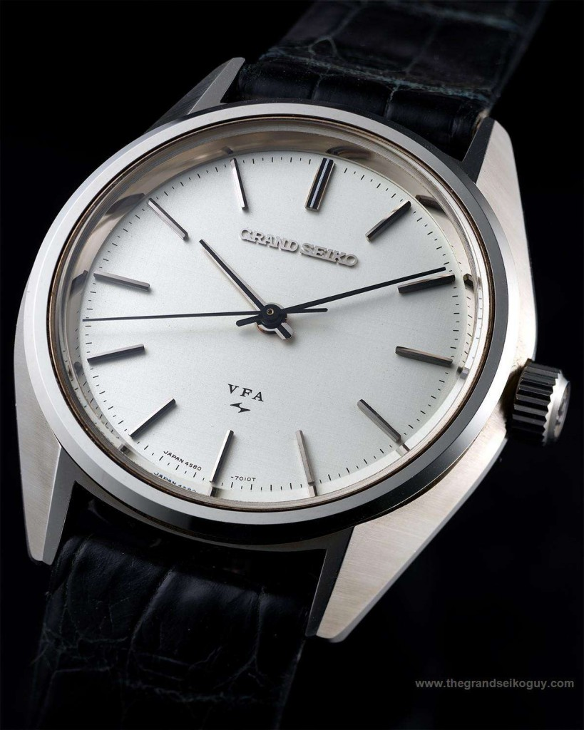 Grand Seiko 4580 020 VFA. Note the Daini Seikosha logo above the 6 o'clock index