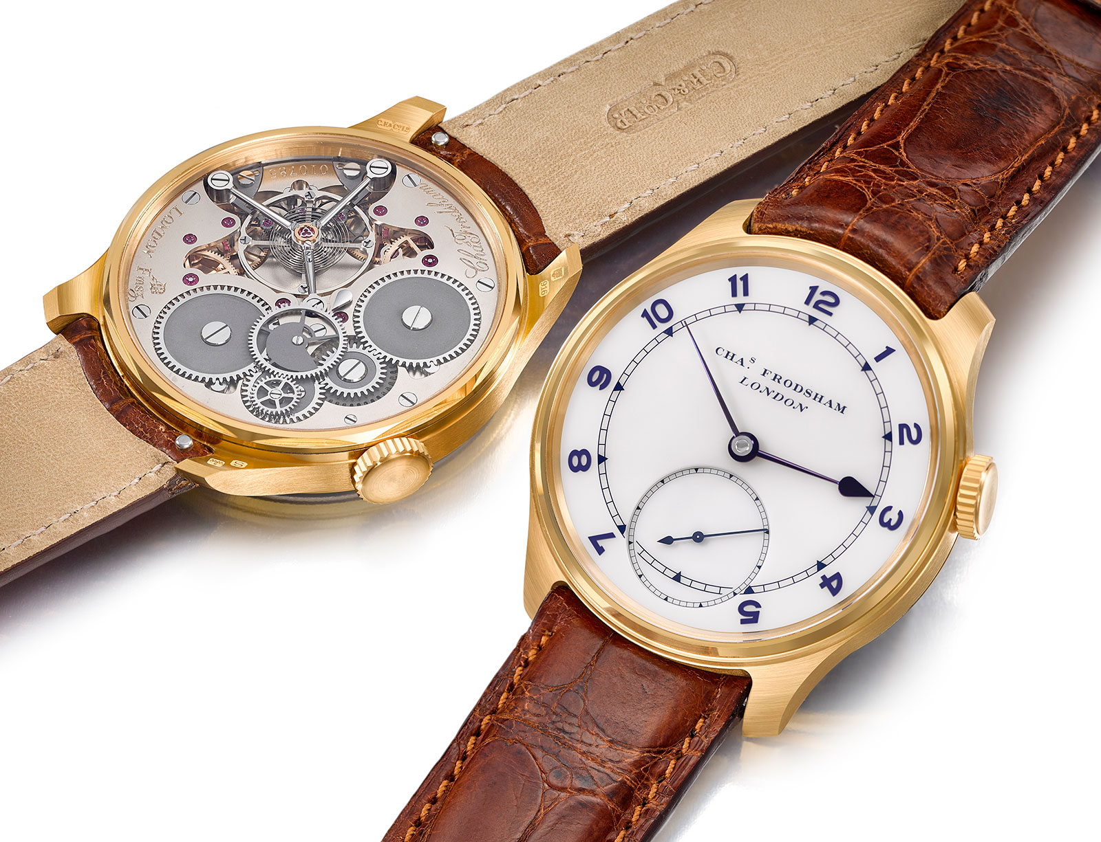 Charles Frodsham Wristwatch Double Impulse Chronometer
