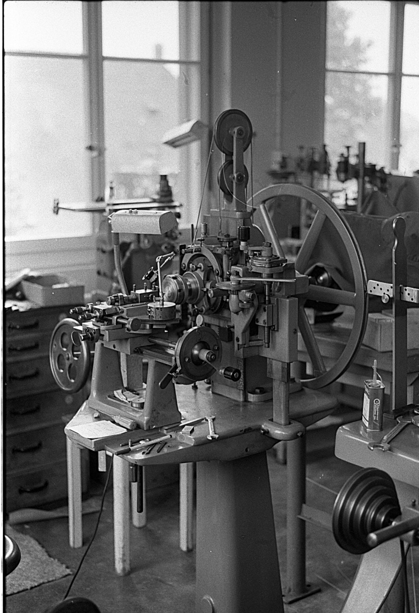 Derek Pratt Engine-Turning Machine