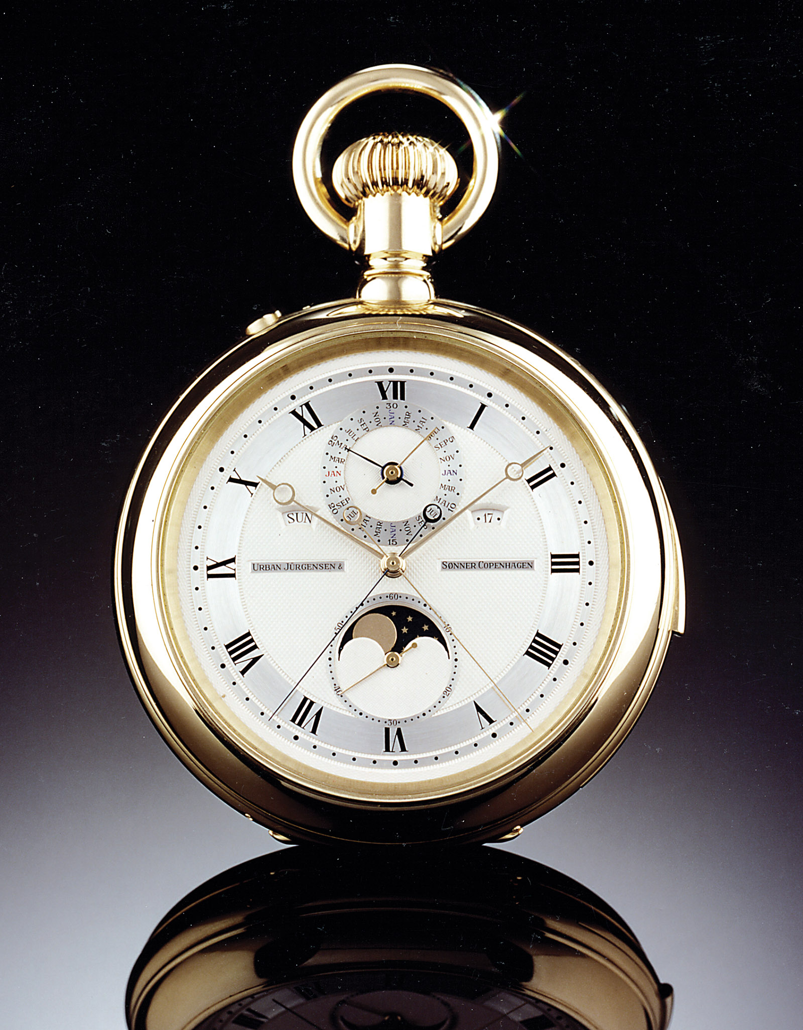 Derek Pratt Urban Jürgensen & Sønner Pocket Watch
