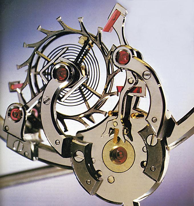 Derek Pratt single wheel remontoir