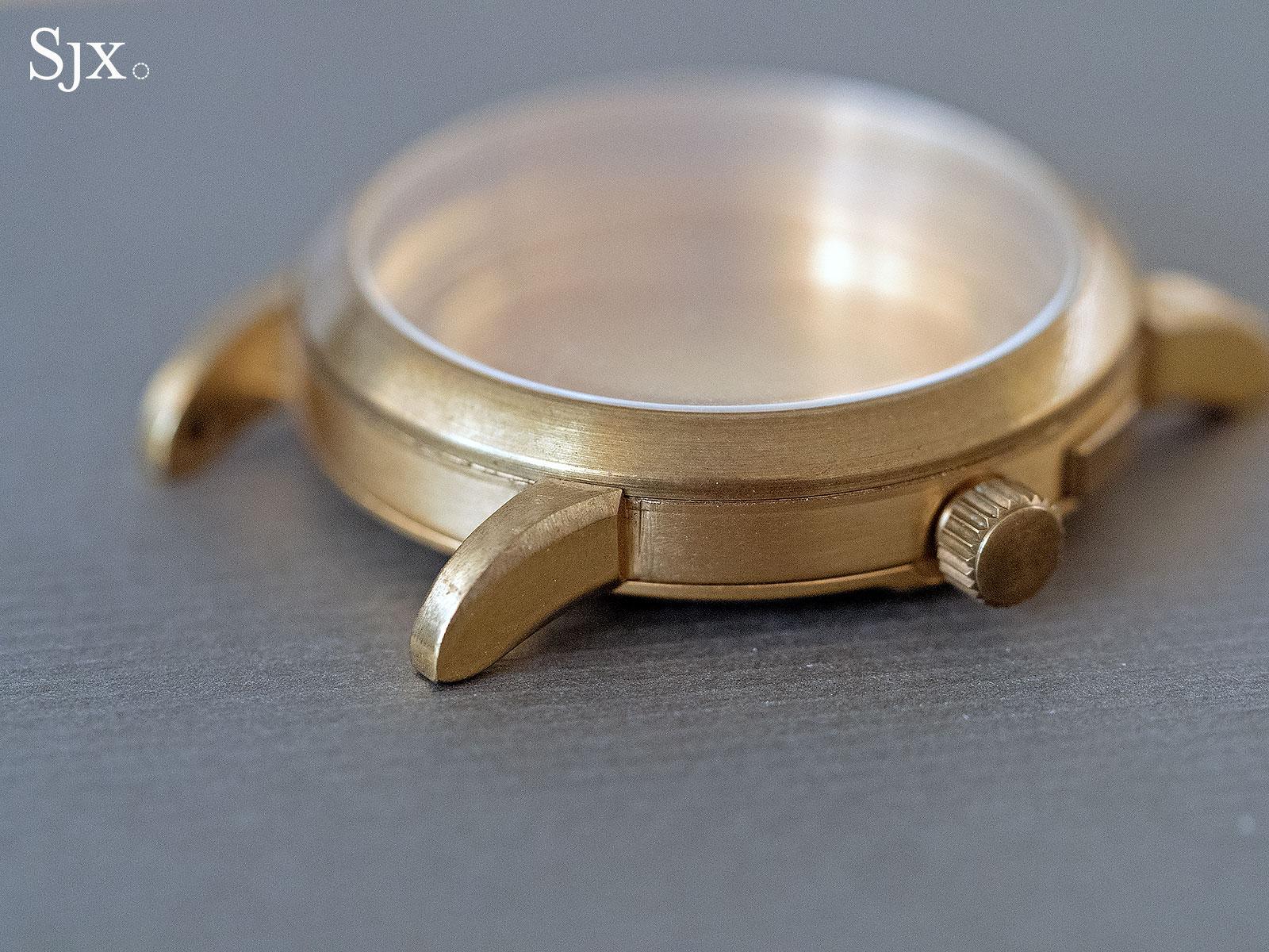 Lange early case prototype brass 1