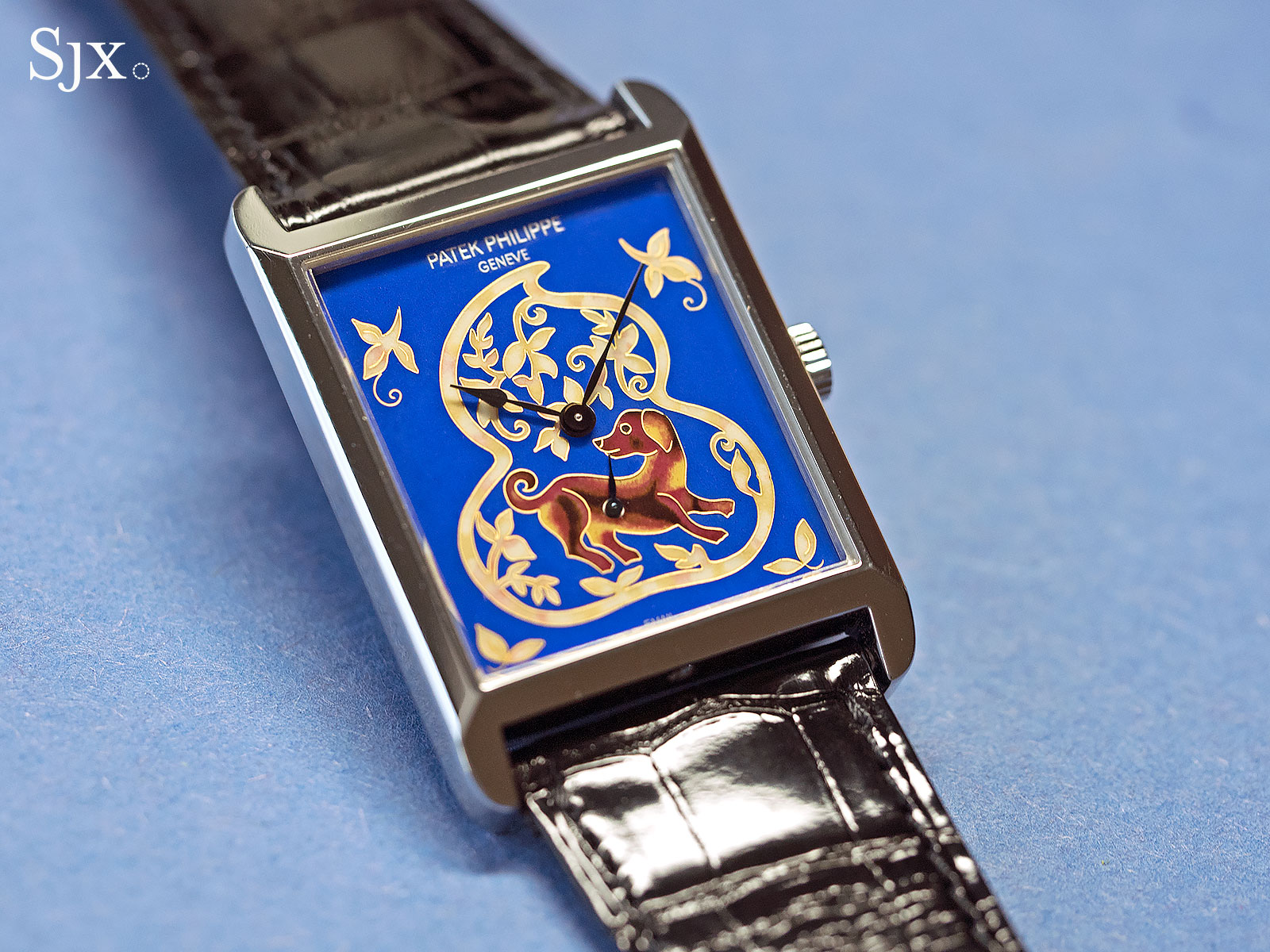 Lot 2814 Patek Philippe ref. 5076 dog cloisonne 1