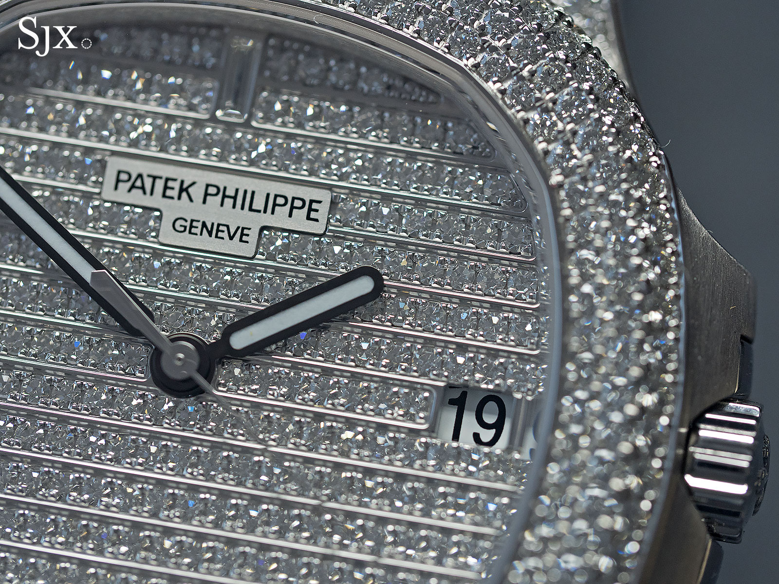 Patek Nautilus diamonds ref. 5719-2