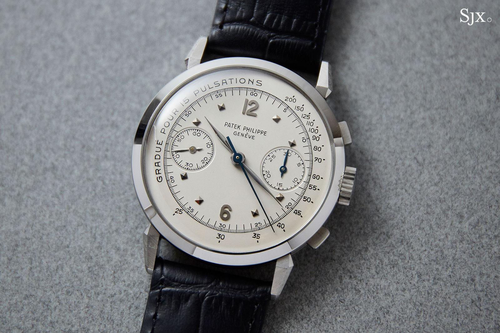Patek Philippe 1579 steel pulsations dial 1