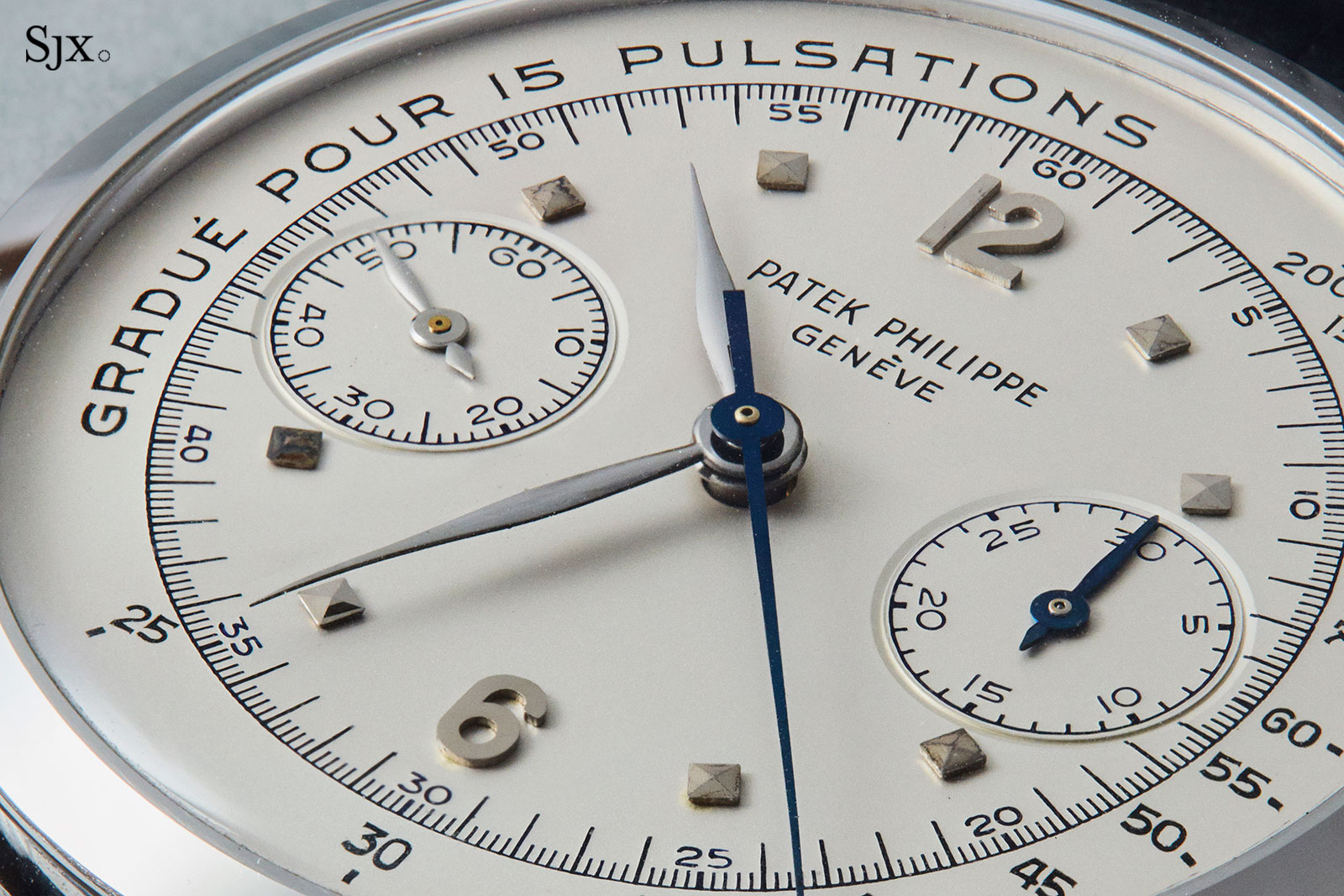Patek Philippe 1579 steel pulsations dial 3