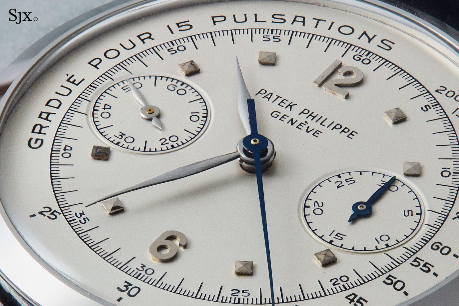 Patek Philippe 1579 steel pulsations dial 3