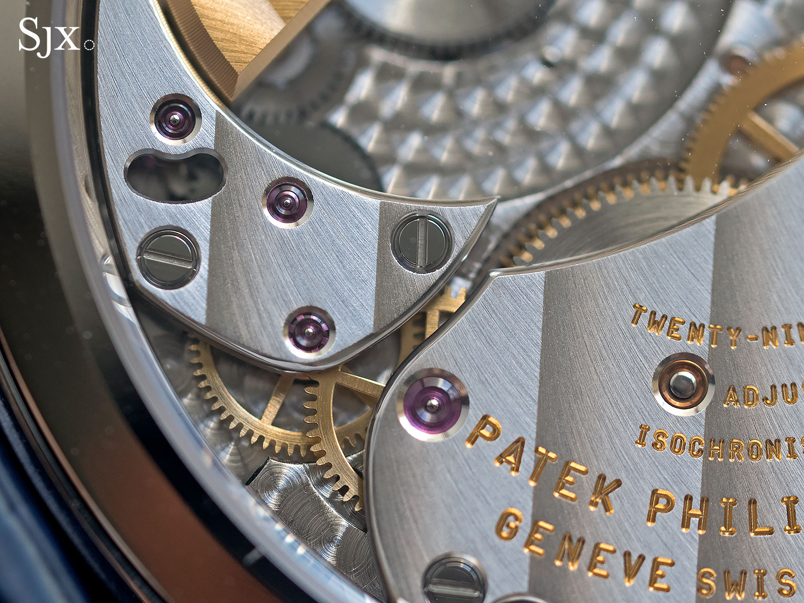 Patek Philippe 5235G regulator 12