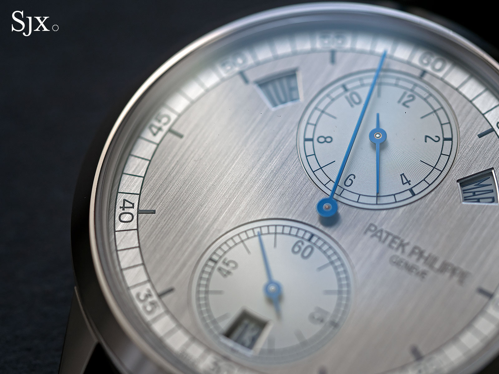 Patek Philippe 5235G regulator 15