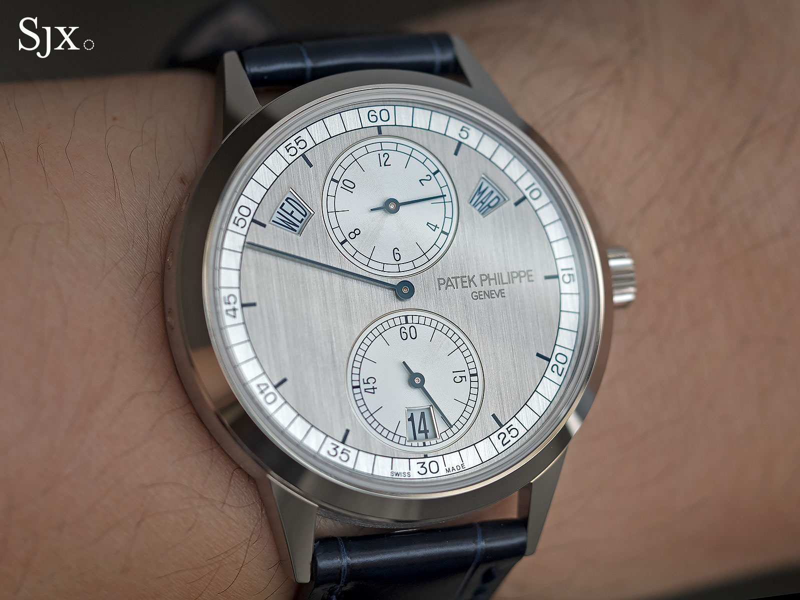 Patek Philippe 5235G regulator 18