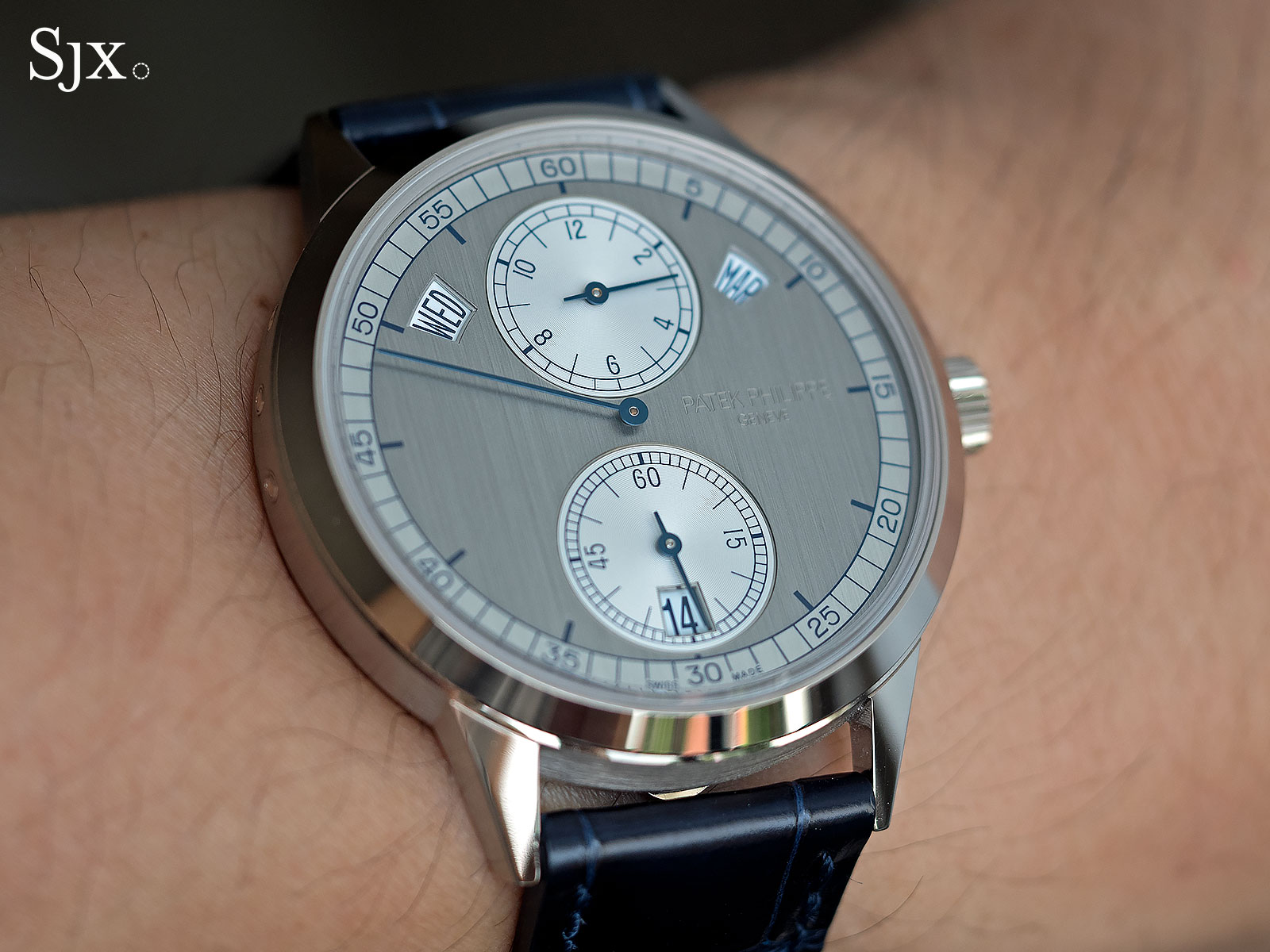 Patek Philippe 5235G regulator 19
