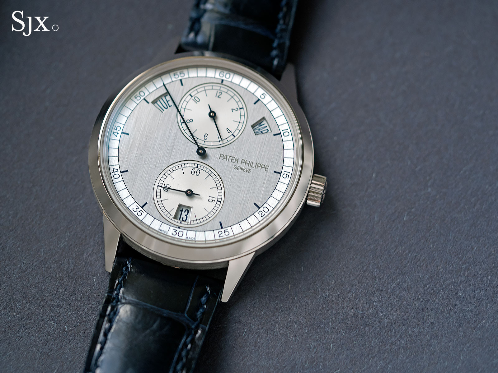 Patek Philippe 5235G regulator 2