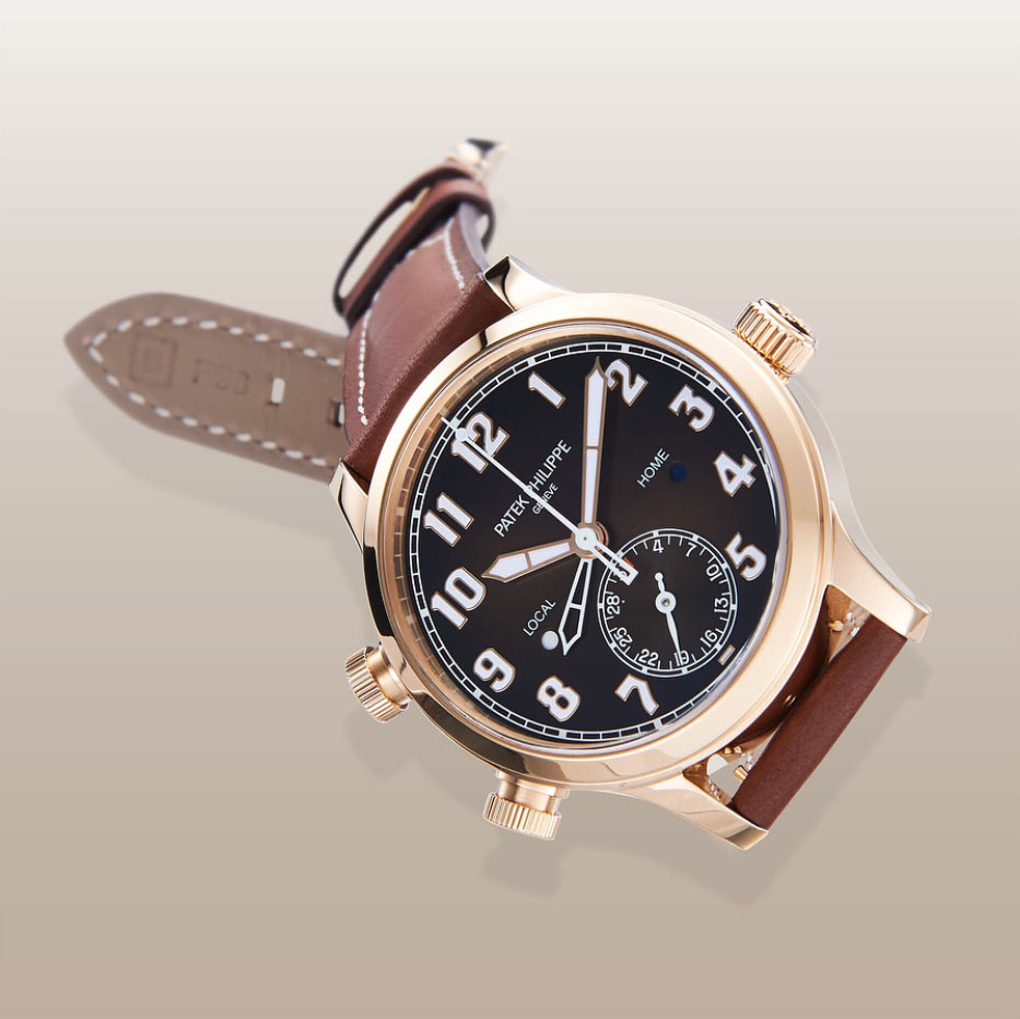 Patek Philippe Pilot Travel Time 5524 rose gold 1
