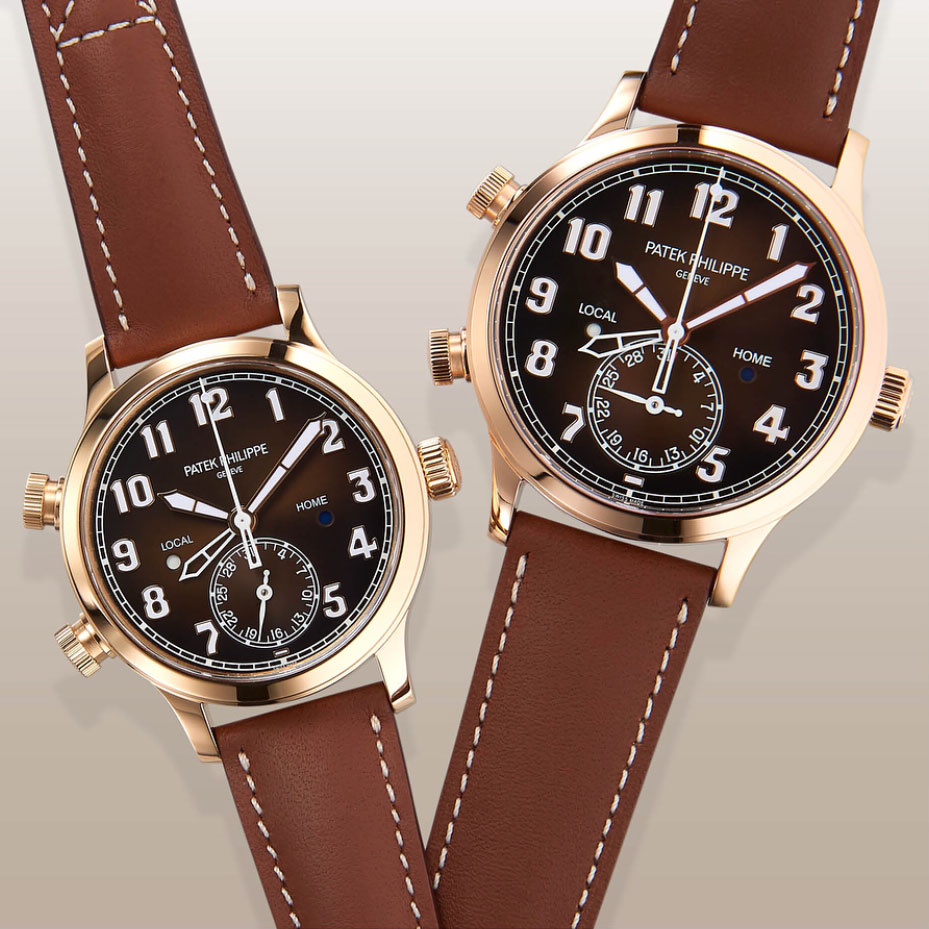 Patek Philippe Pilot Travel Time 5524 rose gold 3