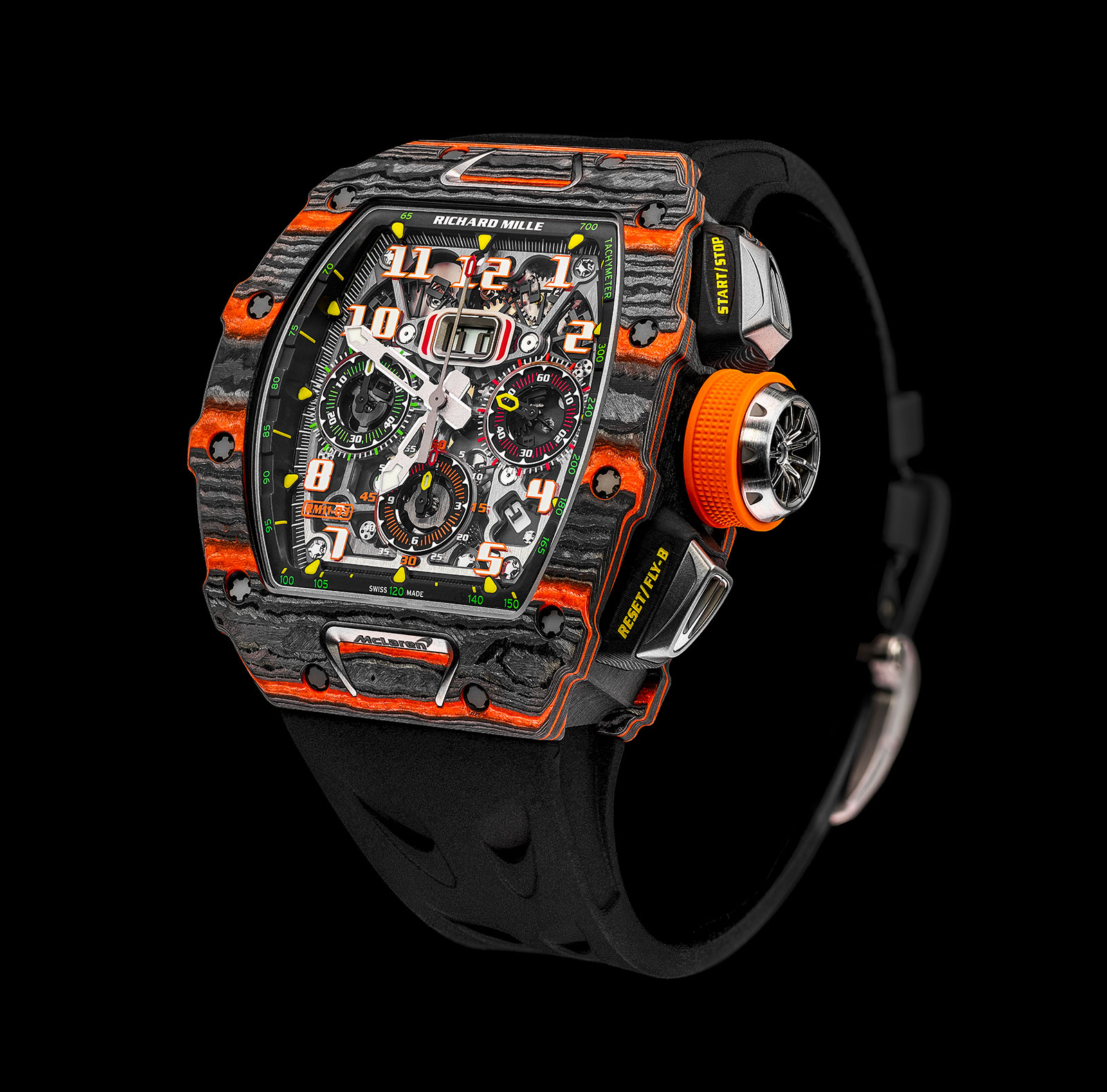Introducing the Richard Mille RM 11-03 McLaren Chronograph ...